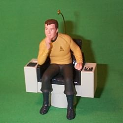 1995 Star Trek - Captain Kirk - NB Hallmark Ornament