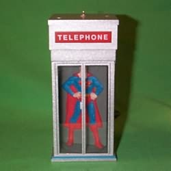 1995 Superman - Lighted Hallmark Ornament