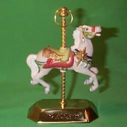 1995 Tobin Fraley Carousel #4f Hallmark Ornament