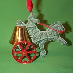 1995 Turn Of The Century #1 - The Fireman Hallmark Ornament