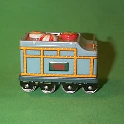 1995 Yuletide Central #2 - Coal Car Hallmark Ornament