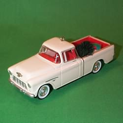 1996 All American Trucks #2 - 1955 Chev. Cameo Hallmark Ornament