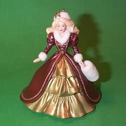 1996 Barbie - Holiday #4 Hallmark Ornament