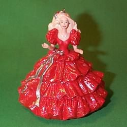 1996 Barbie -  Holiday - Club Hallmark Ornament