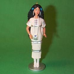 1996 Barbie - Native American #1 Hallmark Ornament