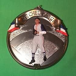 1996 Baseball Heroes #3 - Satchel Paige Hallmark Ornament