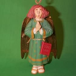 1996 Caroling Angel Hallmark Ornament