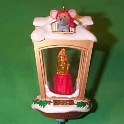 1996 Chris Mouse #12 - The Inn Hallmark Ornament