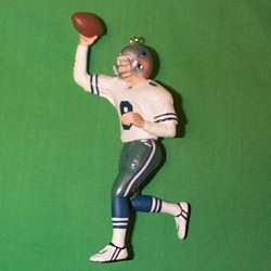 1996 Football #2 - Troy Aikman - NB Hallmark Ornament