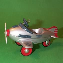 1996 Kiddie Car Classic #3 - Airplane Hallmark Ornament