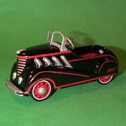 1996 Kiddie Car Classic - Auburn Hallmark Ornament