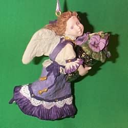 1996 Language Of Flowers #1 - Pansy Hallmark Ornament