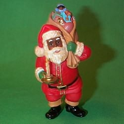 1996 Making His Rounds Hallmark Ornament