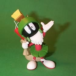1996 Marvin Martian Hallmark Ornament