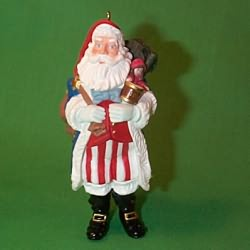 1996 Merry Olde Santa #7 Hallmark Ornament