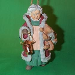 1996 Mrs. Claus Hallmark Ornament