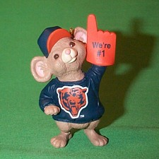 1996 Nfl - Chicago Bears Hallmark Ornament