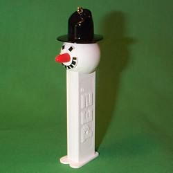 1996 Pez - Snowman Hallmark Ornament