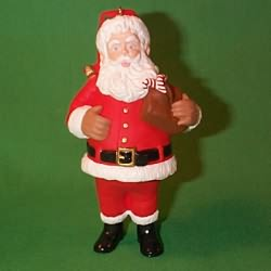 1996 Santa Hallmark Ornament