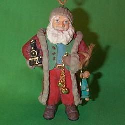 1996 Santa's Gift Hallmark Ornament