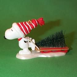 1996 Snoopy - Tree Hallmark Ornament