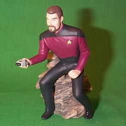 1996 Star Trek - Ryker Hallmark Ornament