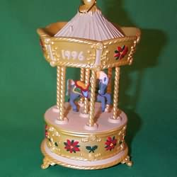 1996 Tobin Fraley Carousel #3 - Lighted Hallmark Ornament