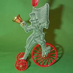 1996 Turn Of The Century #2 - Uncle Sam Hallmark Ornament