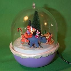 1996 Winnie The Pooh - Lighted Hallmark Ornament