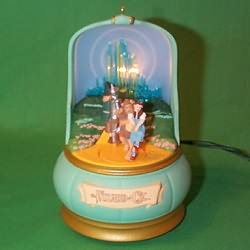 1996 Wizard Of Oz  - Emerald City - DB Hallmark Ornament