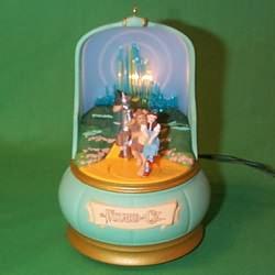 1996 Wizard Of Oz  - Emerald City Hallmark Ornament