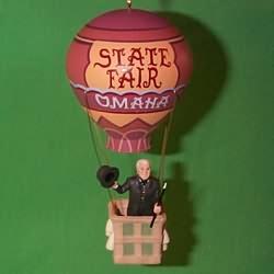 1996 Wizard Of Oz - Oz In Balloon Hallmark Ornament