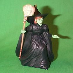 1996 Wizard Of Oz - Wicked Witch Hallmark Ornament