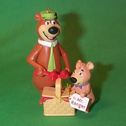 1996 Yogi Bear Hallmark Ornament