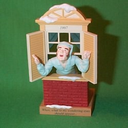 1997 Away To The Window Hallmark Ornament