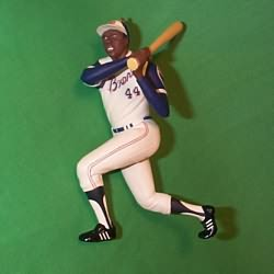 1997 Ballpark #2 - Hank Aaron Hallmark Ornament