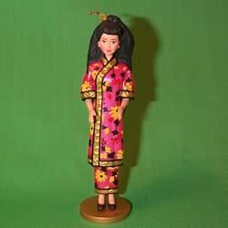 1997 Barbie - Chinese #2 Hallmark Ornament