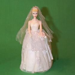 1997 Barbie - Debut #4 - Wedding Day Hallmark Ornament