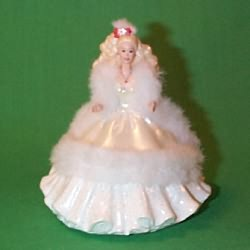 1997 Barbie  Holiday-club 89 Hallmark Ornament