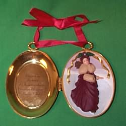 1997 Barbie - Victorian Locket Hallmark Ornament