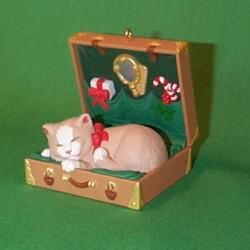 1997 Cat Naps #4 Hallmark Ornament