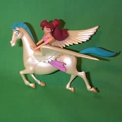 1997 Disney - Megara And Pegasus Hallmark Ornament