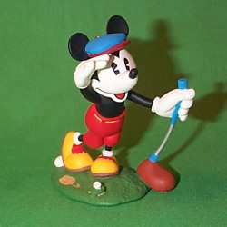 1997 Disney - Mickey's Long Shot Hallmark Ornament
