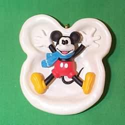 1997 Disney - Mickey's Snow Angel Hallmark Ornament