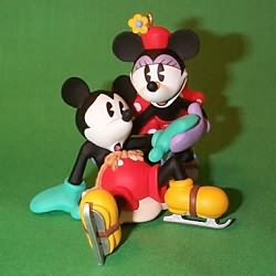 1997 Disney - New Pair Skates Hallmark Ornament