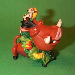1997 Disney - Timon And Pumbaa Hallmark Ornament