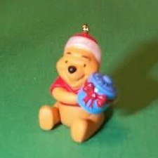 1997 Disney - Winnie The Pooh Honey Gift Hallmark Ornament