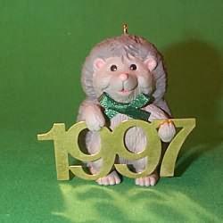 1997 Fabulous Decade #8 - Hedgehog Hallmark Ornament