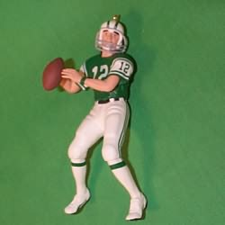 1997 Football #3 - Joe Namath Hallmark Ornament