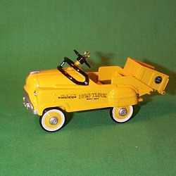 1997 Kiddie Car Classic #4 - Dump Truck Hallmark Ornament